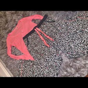 Victoria's Secret PINK matching pajama set